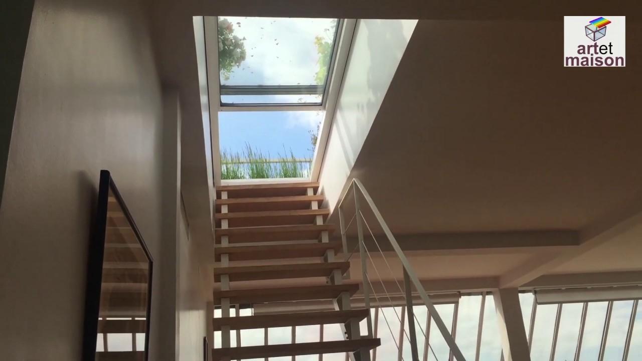 Accès Toit Terrasse Rooftop, Édicule Bas - serapportantà Acces Toit Terrasse