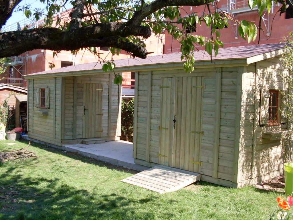 Acheter Abris De Jardin Sur-Mesure / Personnalisé | Cerisier pour Abri Jardin Sur Mesure