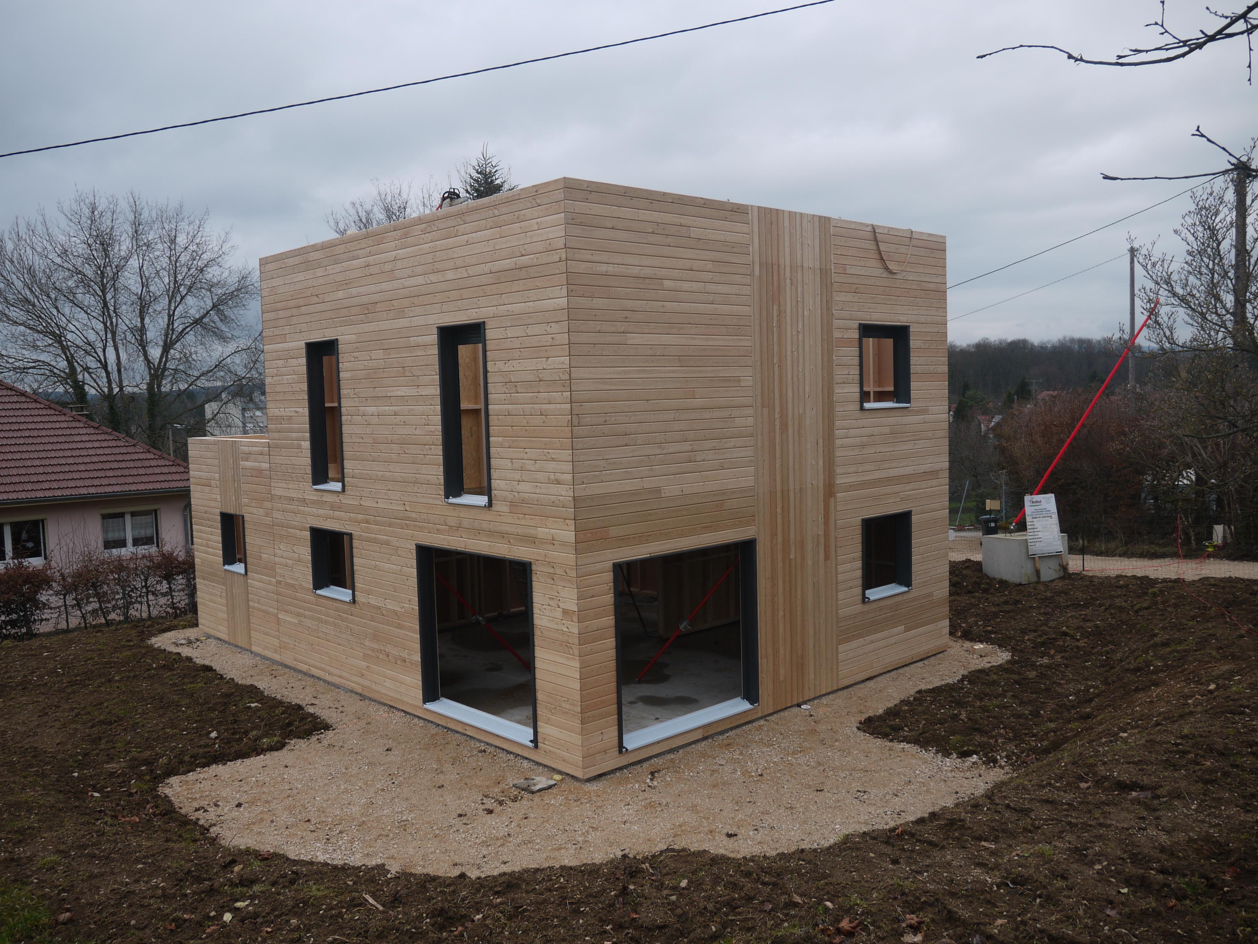 Acrotère | Notre Maison Ossature Bois serapportantà Acrotere Toit Plat