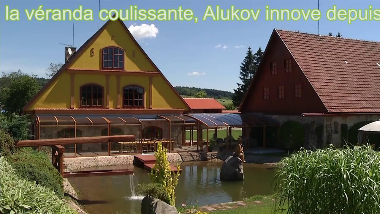 Alukov Veranda - L'abri De Terrasse Rétractable tout Abri Terrasse Coulissant