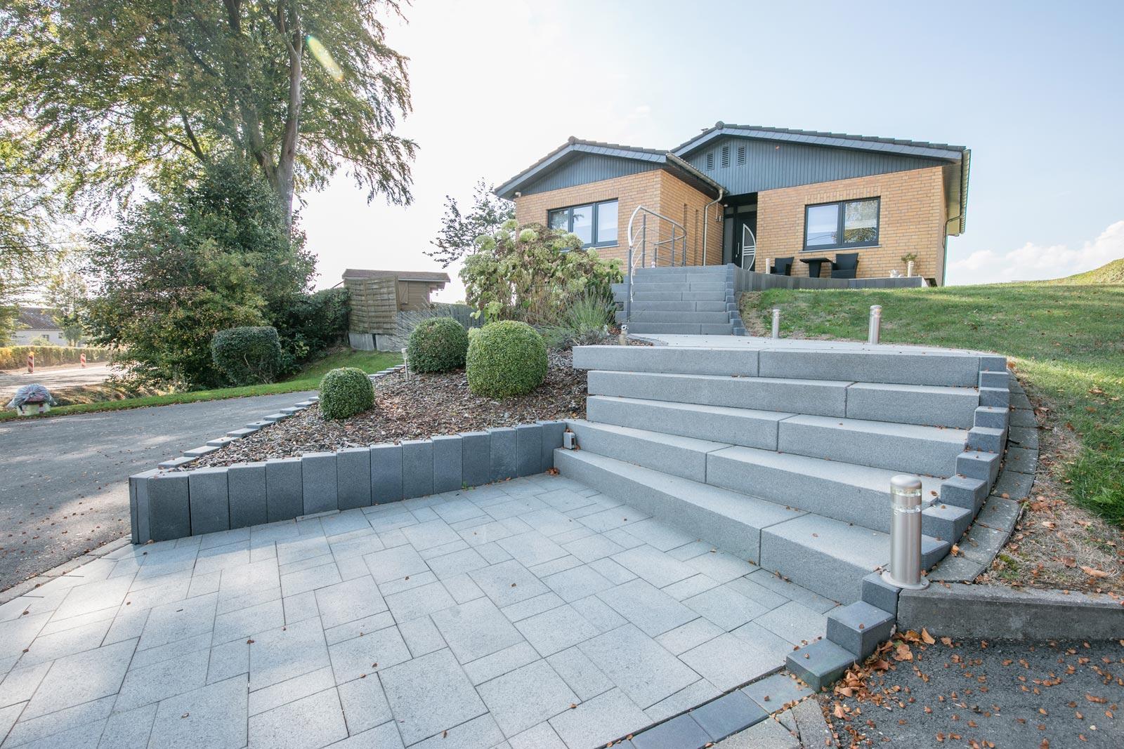 Aménagement De Jardins - Rs Construction à Amanagement Extarieur Maison