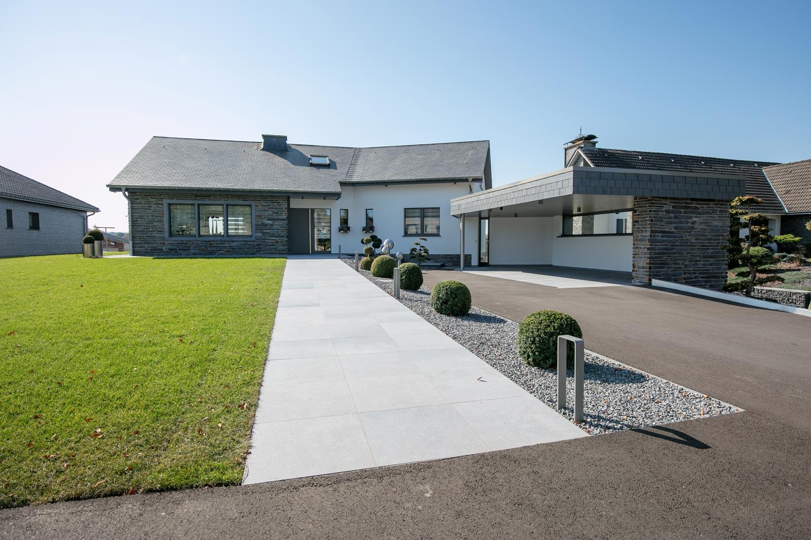 Aménagement De Jardins - Rs Construction avec Amanagement Extarieur Maison
