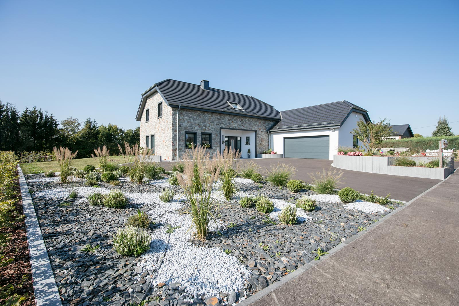 Aménagement De Jardins - Rs Construction intérieur Amanagement Extarieur Maison