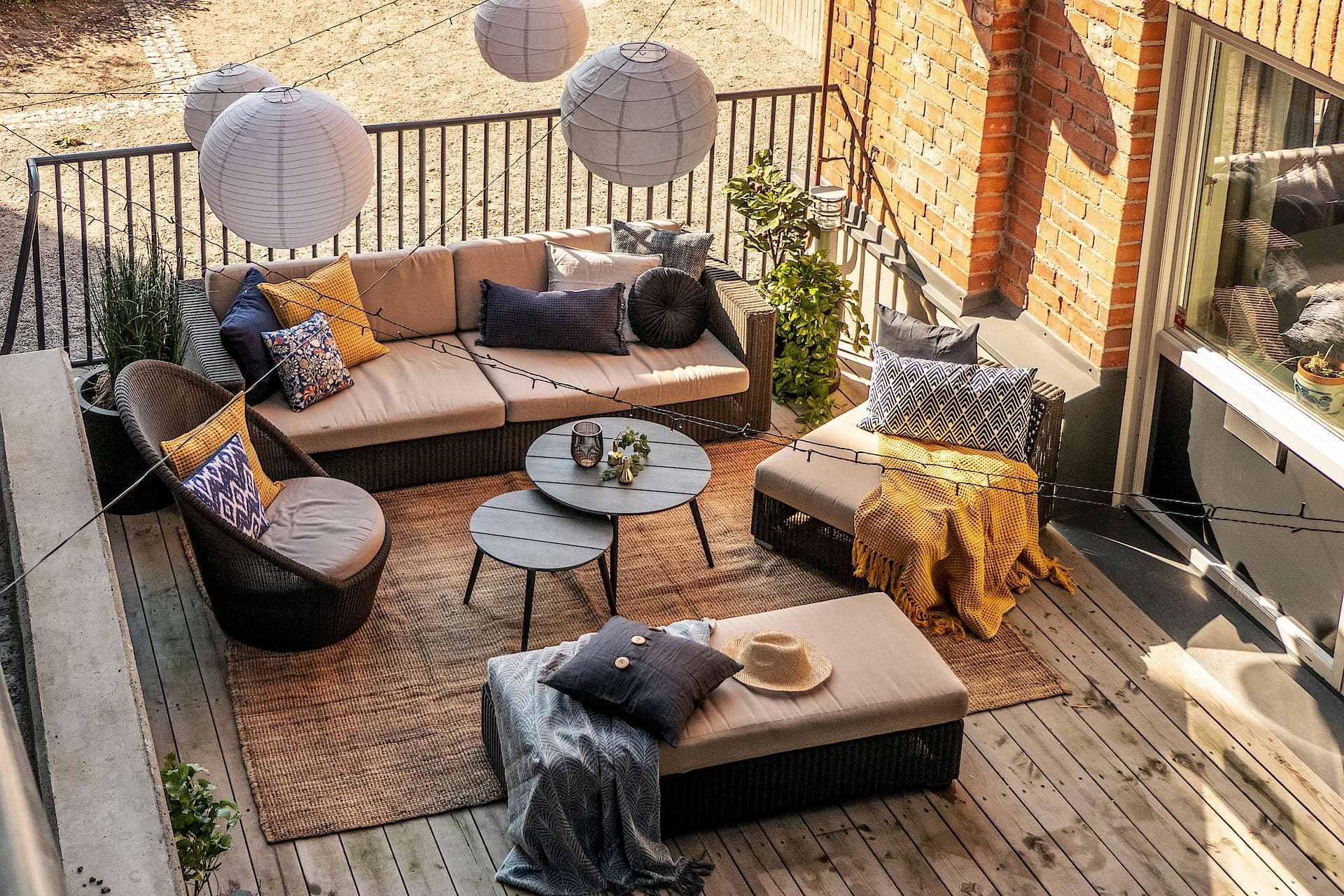 Aménagement De Terrasse & Balcon : Idées Et Conseils | Hopfab pour Amanagement De Terrasse