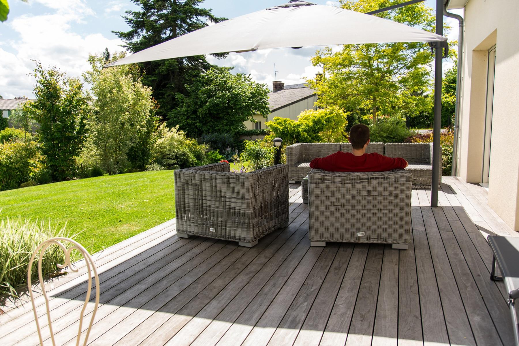 Aménagement De Terrasse En Bois - Aménagement Extérieur ... avec Amenagement De Terrasse