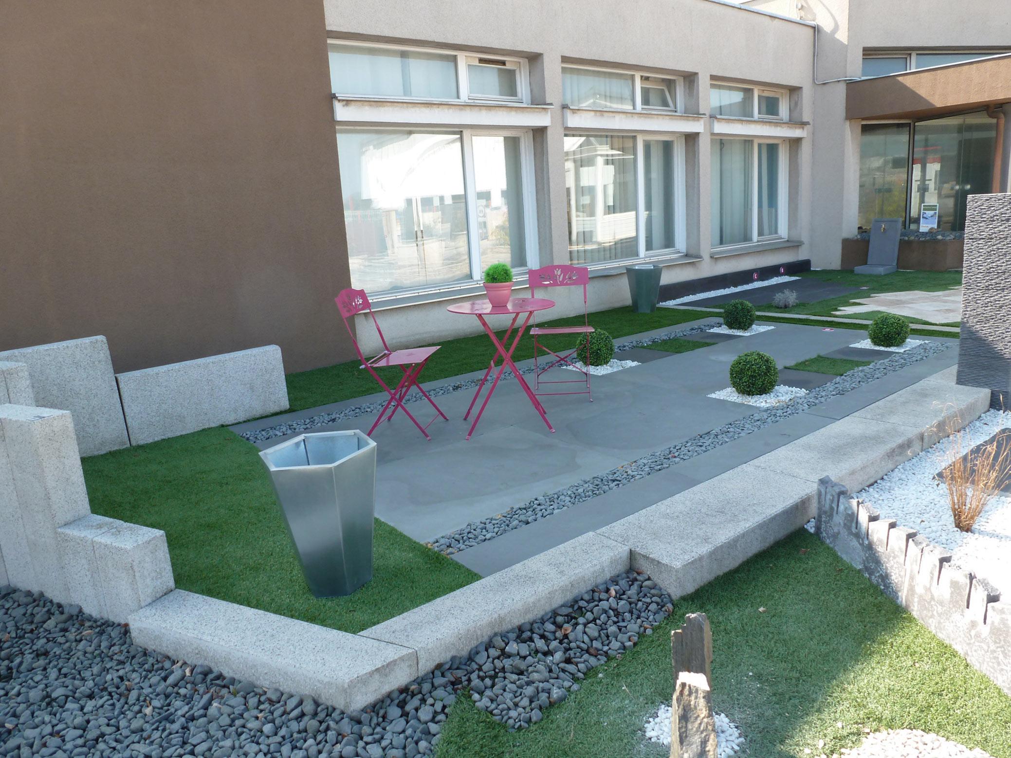 Aménagement De Terrasses Et Jardins, Création - Kalistâ, Le ... encequiconcerne Amenagement De Terrasse Exterieure