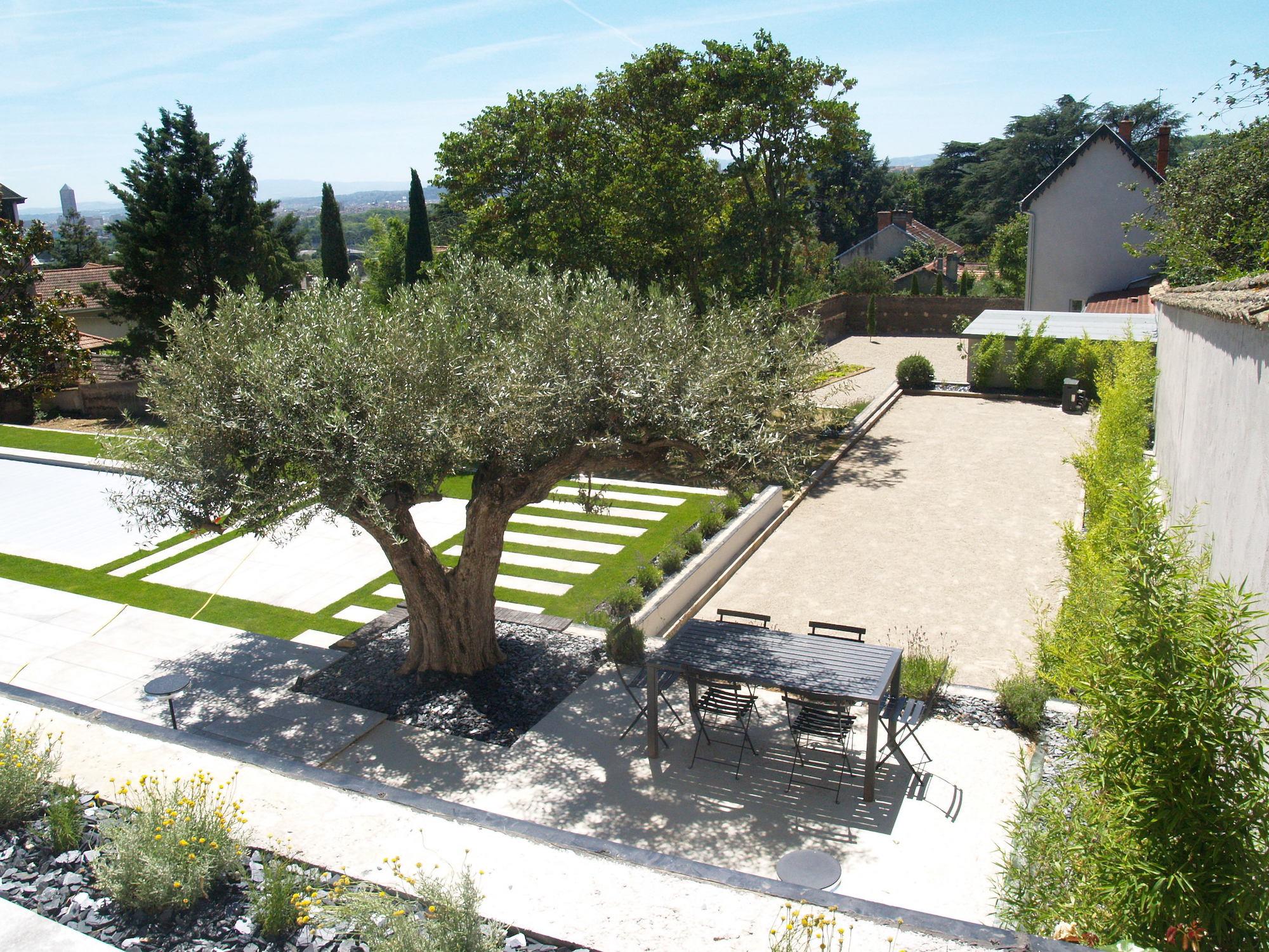 Aménagement D'extérieur Et De Jardin / Engazonnement ... avec Amenagement De Terrasse Exterieure