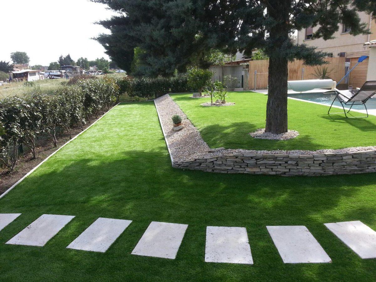 Aménagement Extérieur D'un Jardin Avec Piscine - Piscines Hdp à Amenagement Exterieur Piscine