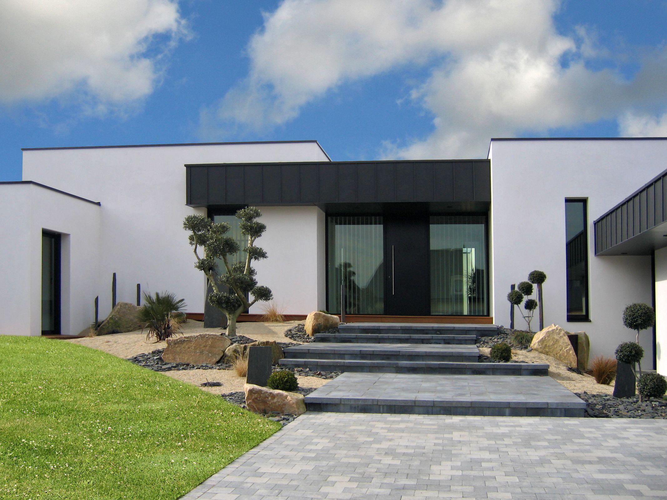Amenagement.exterieur Maison Moderne - Recherche Google ... destiné Amanagement Extarieur Maison