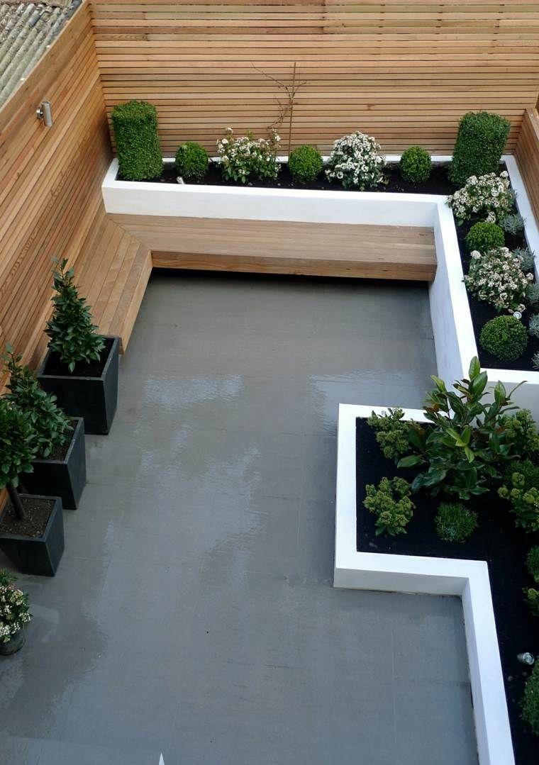 Aménagement Petit Jardin: 99 Idées Comment Optimiser L ... dedans Amenagement De Terrasse