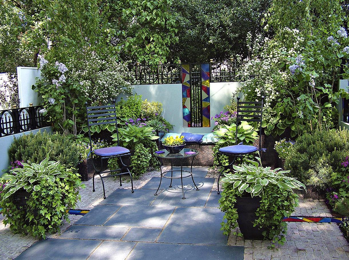 Amenagement Petit Jardin, Aménager Un Petit Jardin | Détente ... intérieur Amanager Un Petit Jardin