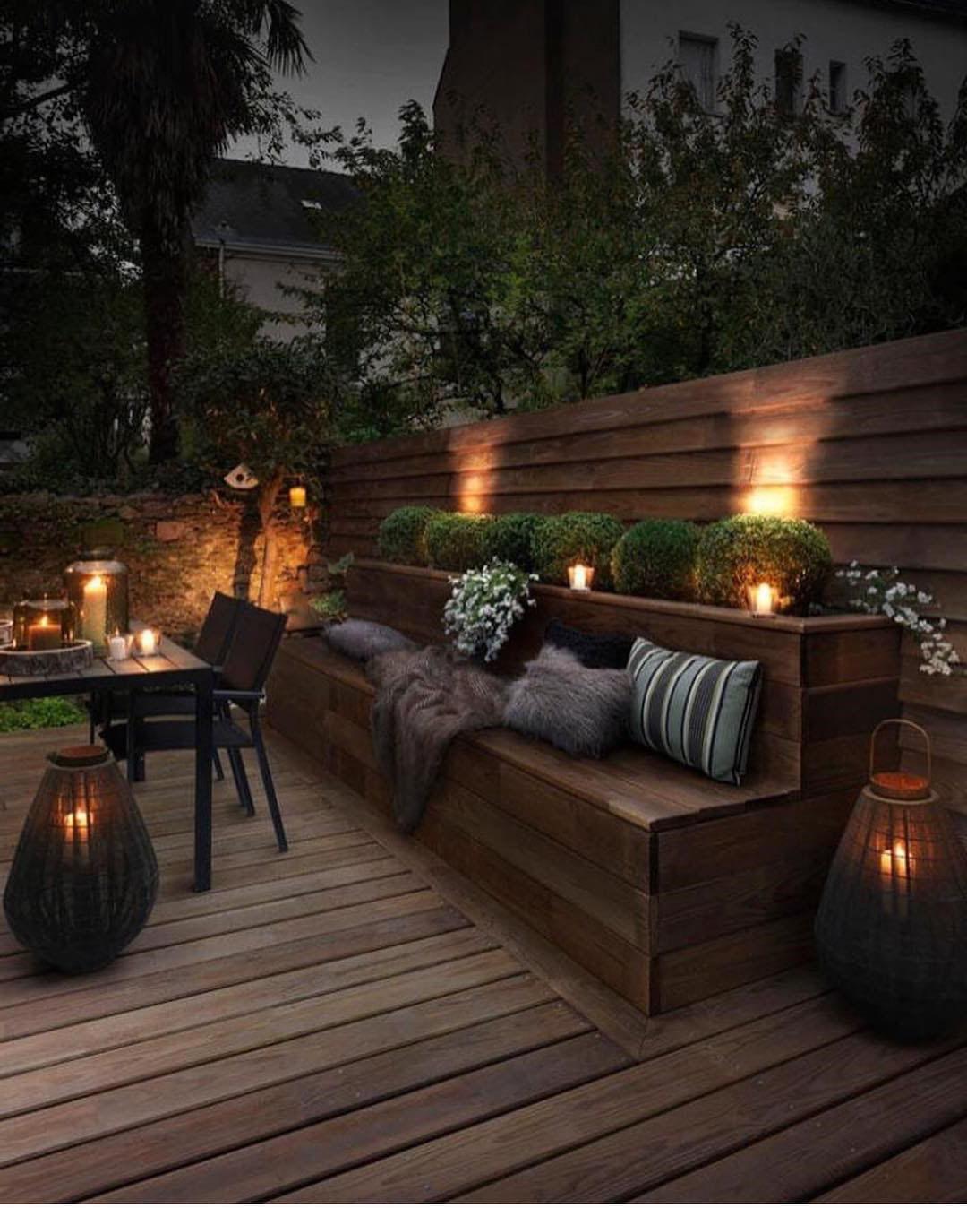 Aménagement Terrasse : 26 Idées, Conseils, Photos Et Astuces destiné Amenager Une Grande Terrasse