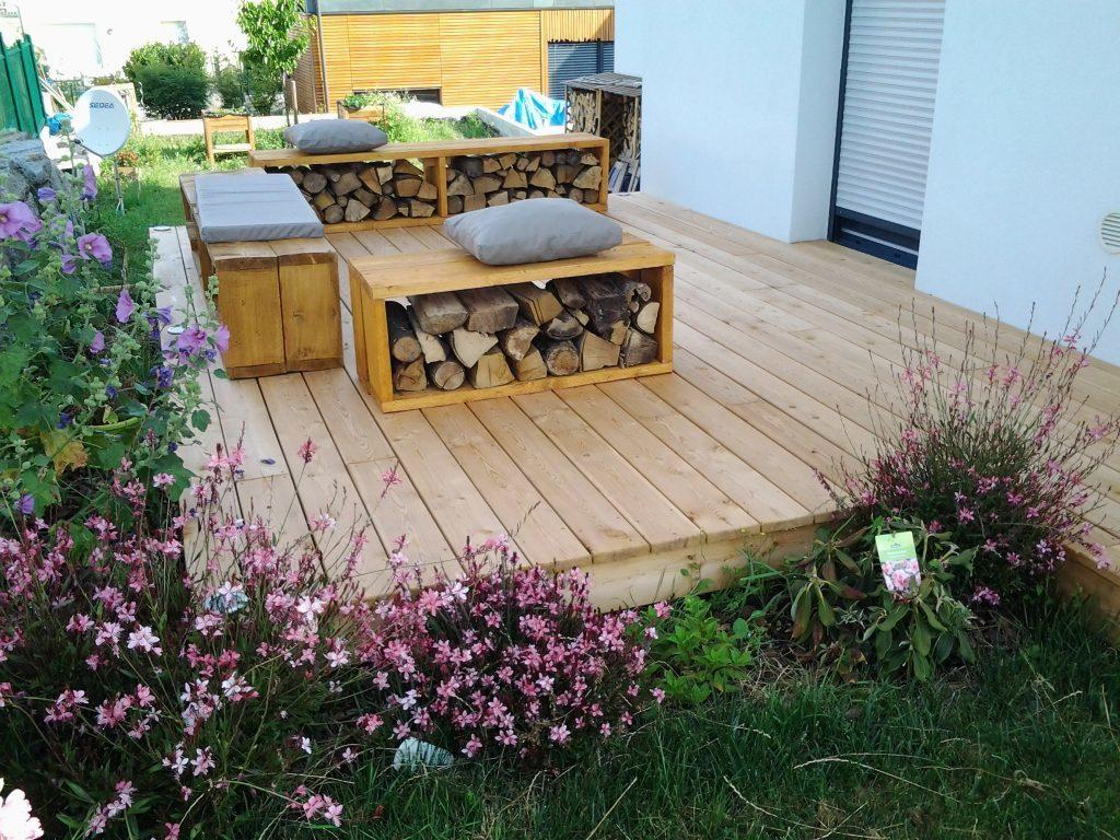 Aménagement Terrasse Bois À Colmar - Naturabois avec Amenagement De Terrasse