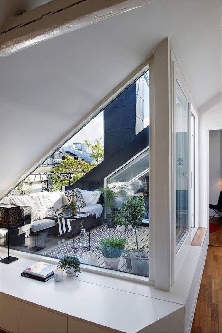Aménagement Toit Terrasse Moderne – 22 Idées Magnifiques À ... serapportantà Acces Toit Terrasse