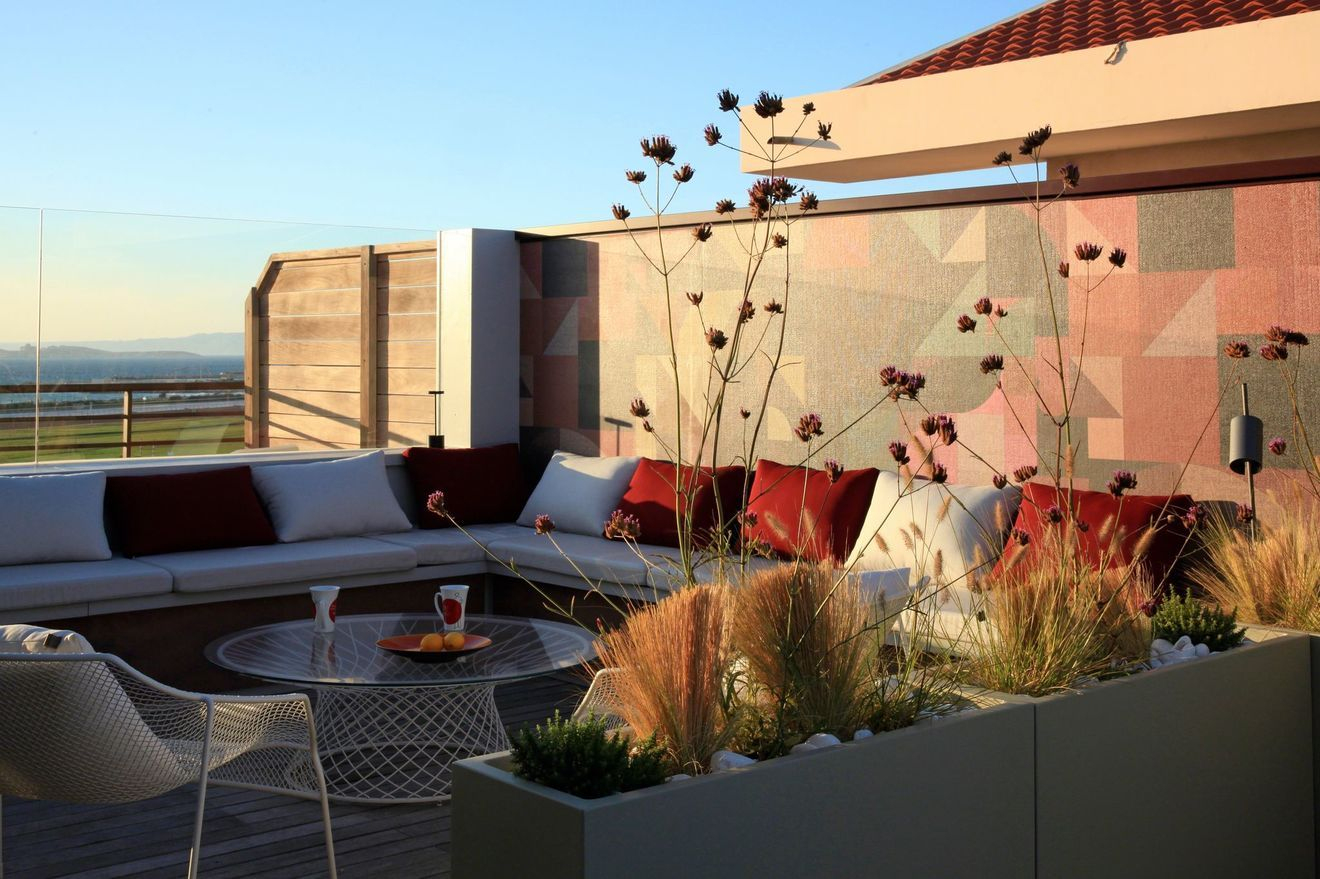 Aménager Une Grande Terrasse : 10 Solutions Possibles ... concernant Amenager Une Grande Terrasse