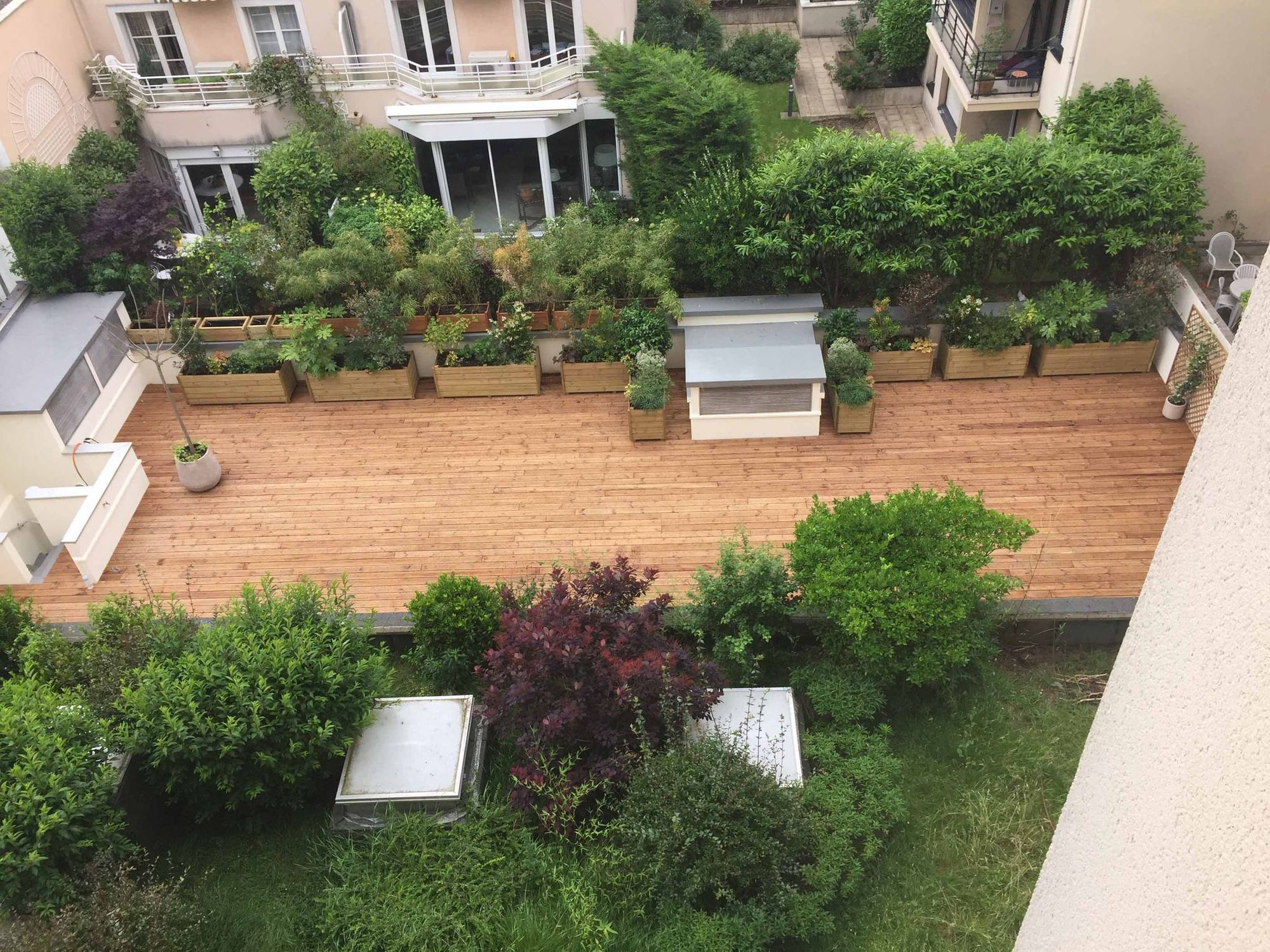 Aménager Une Grande Terrasse : 10 Solutions Possibles ... destiné Amenager Une Grande Terrasse
