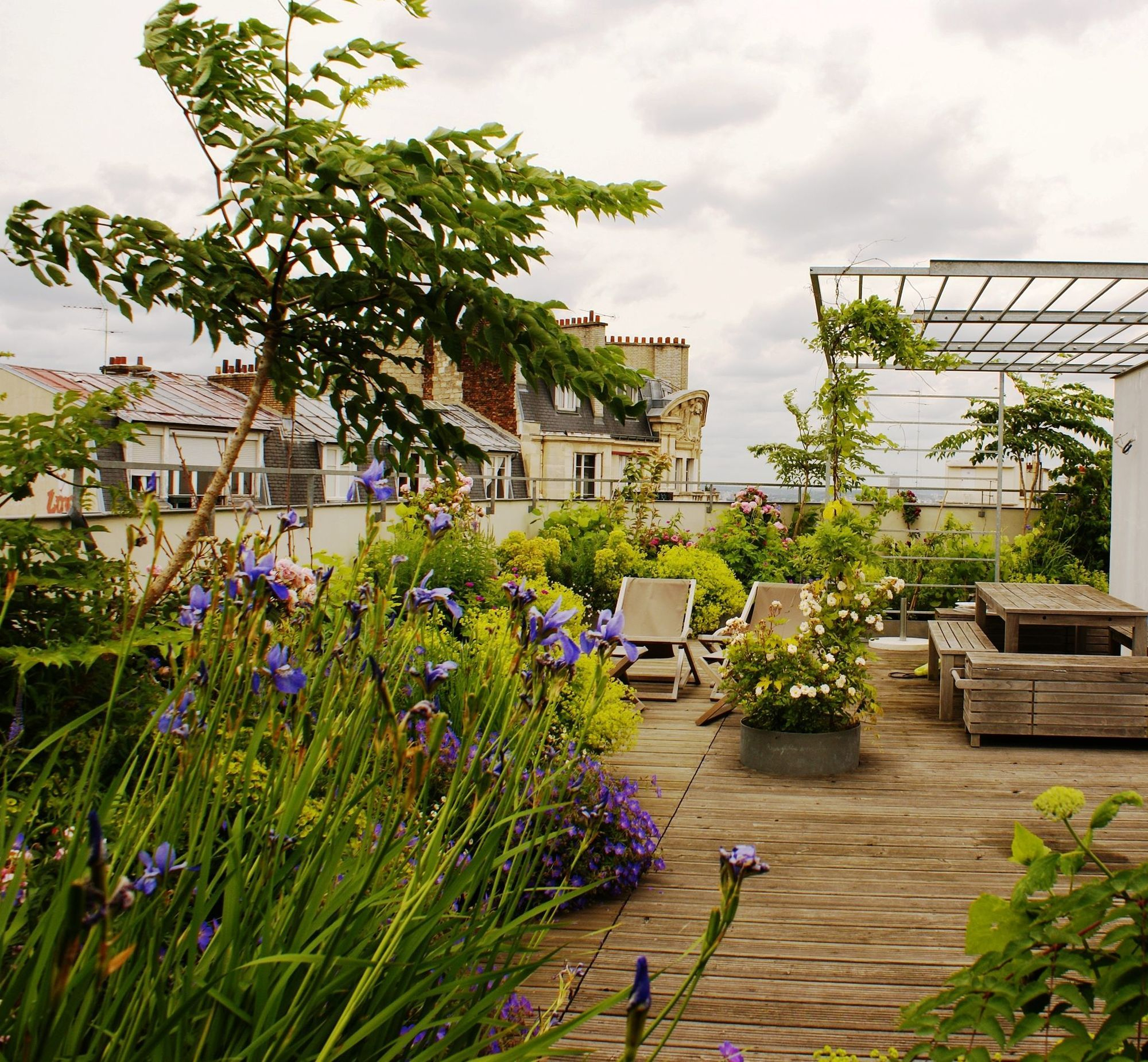 Aménager Une Grande Terrasse : 10 Solutions Possibles ... pour Amenager Une Grande Terrasse