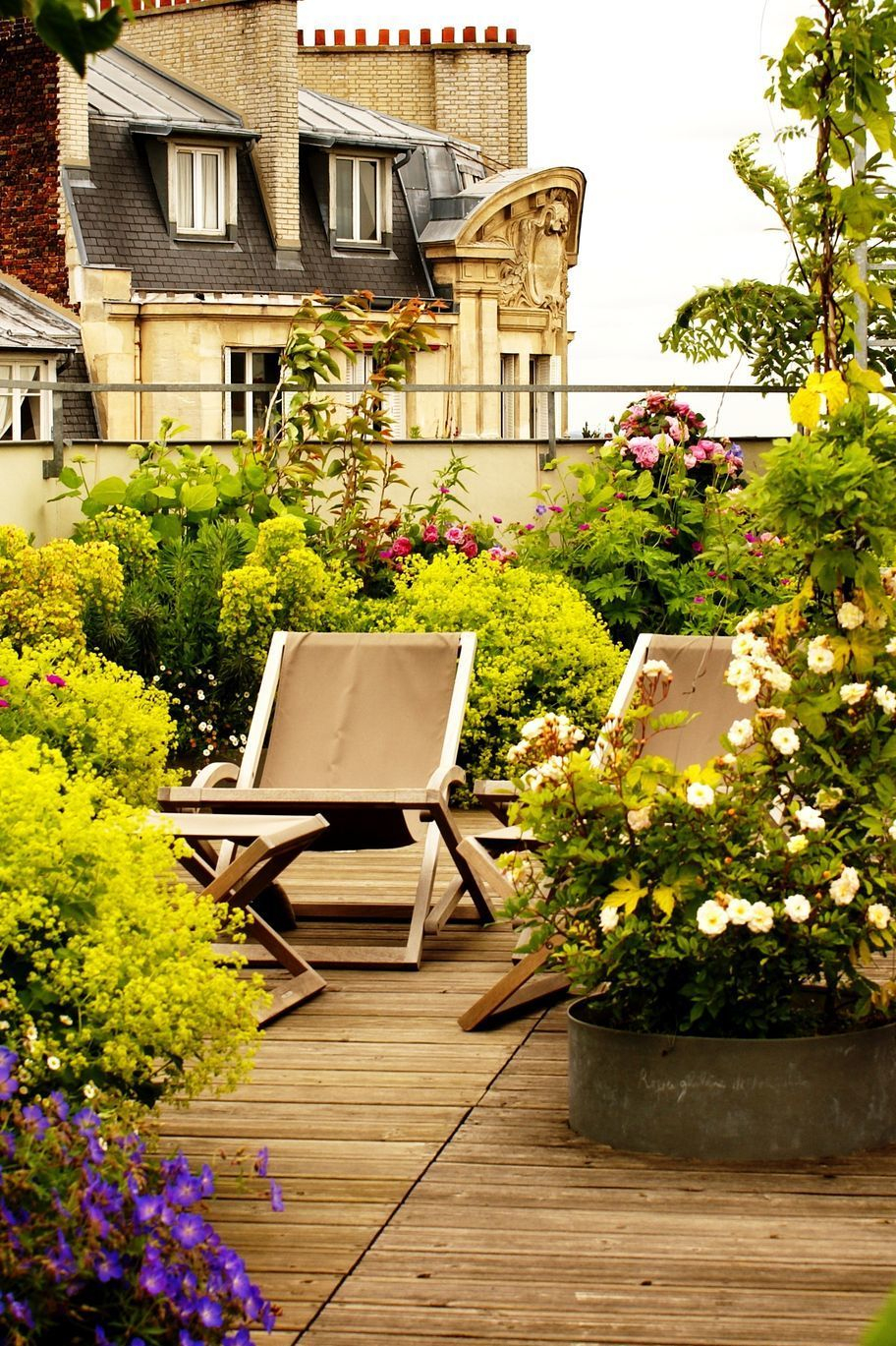 Aménager Une Grande Terrasse : 10 Solutions Possibles ... tout Amenager Une Grande Terrasse