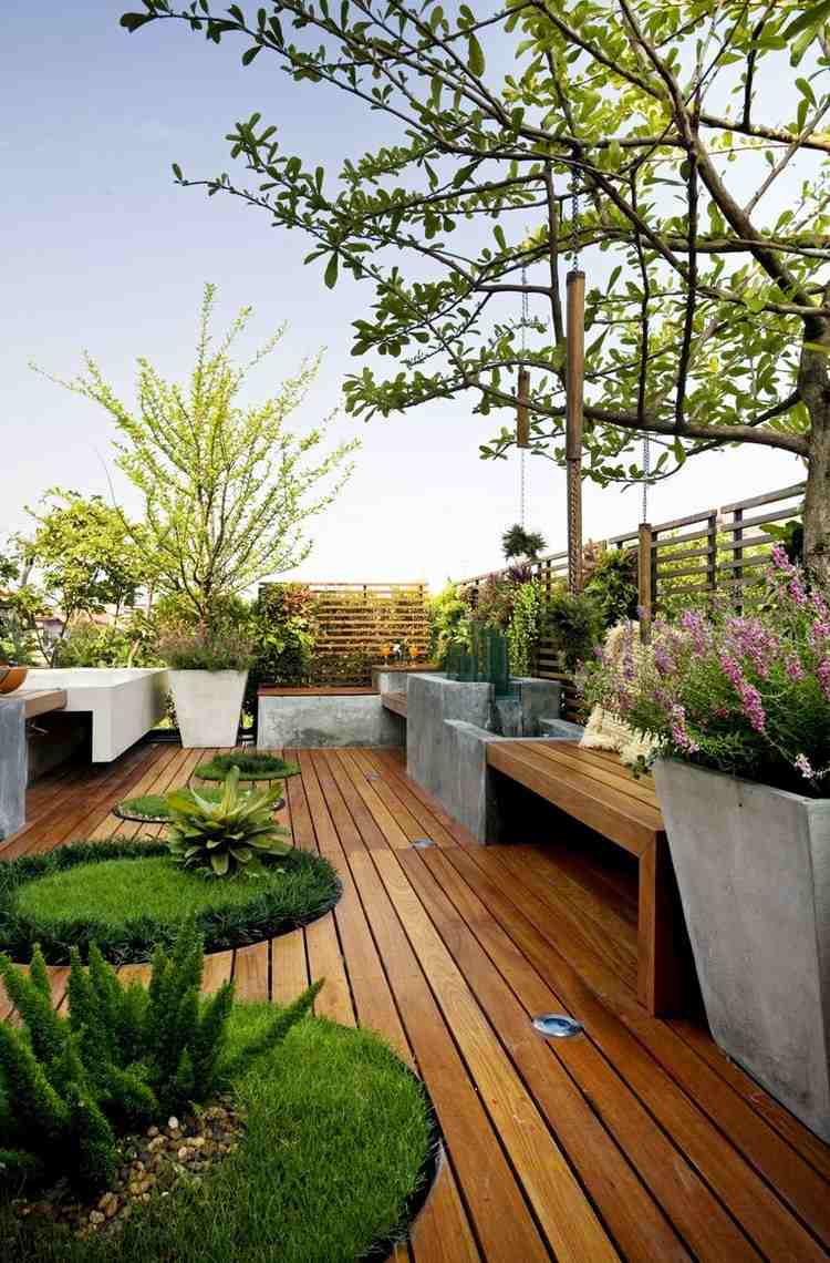 Aménager Une Terrasse D'appartement : Conseils D'expert Et ... avec Amenager Une Grande Terrasse