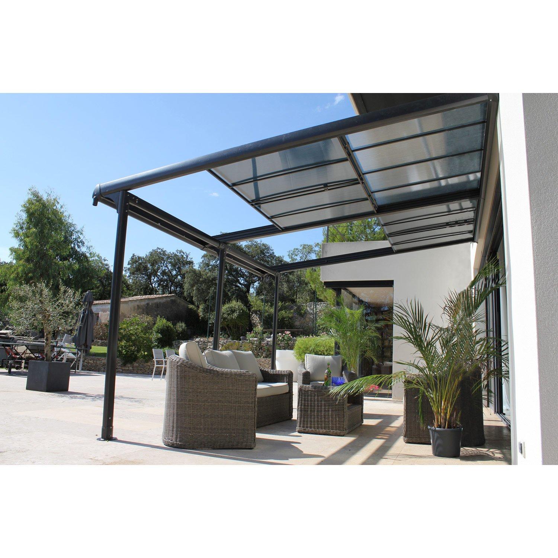 Angel Living Aluminium Pergola Tonnelle Parfait Pour Votre ... pour Toit Terrasse Aluminium