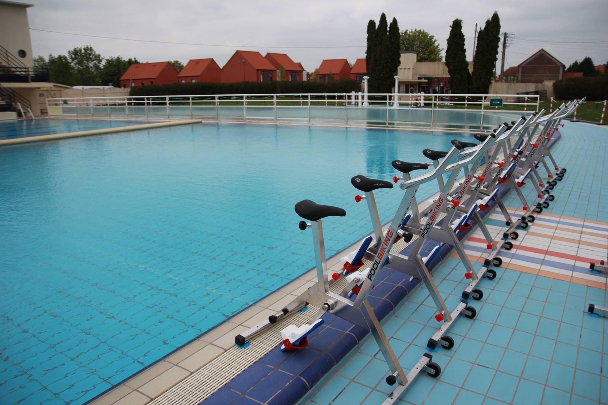 Aquabiking À La Piscine Art Déco De Bruay Labuissière ... tout Piscine Lillers