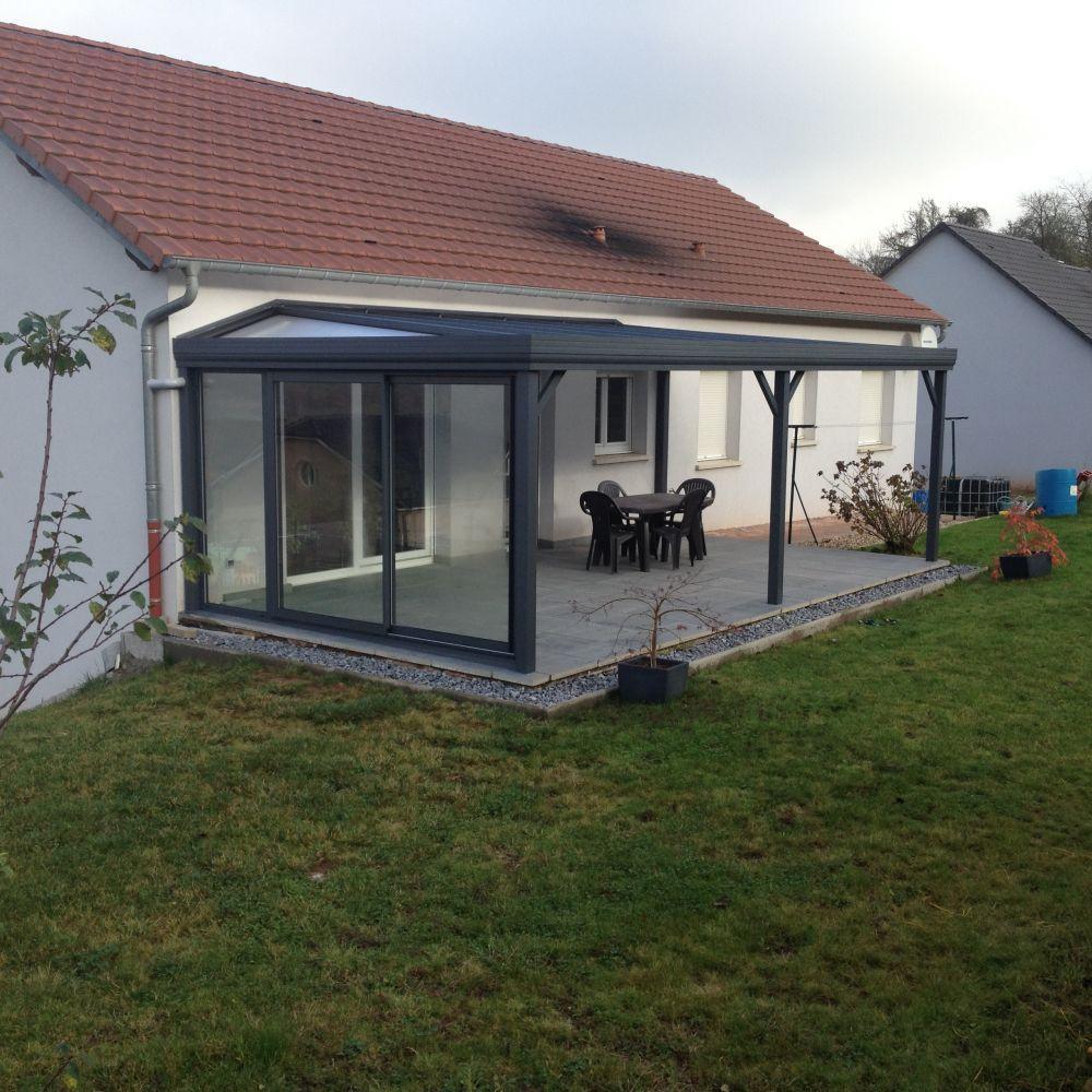 Auvents Pergolas Alu / Bois Pour Terrasse En Lorraine ... intérieur Abri De Terrasse Ferme