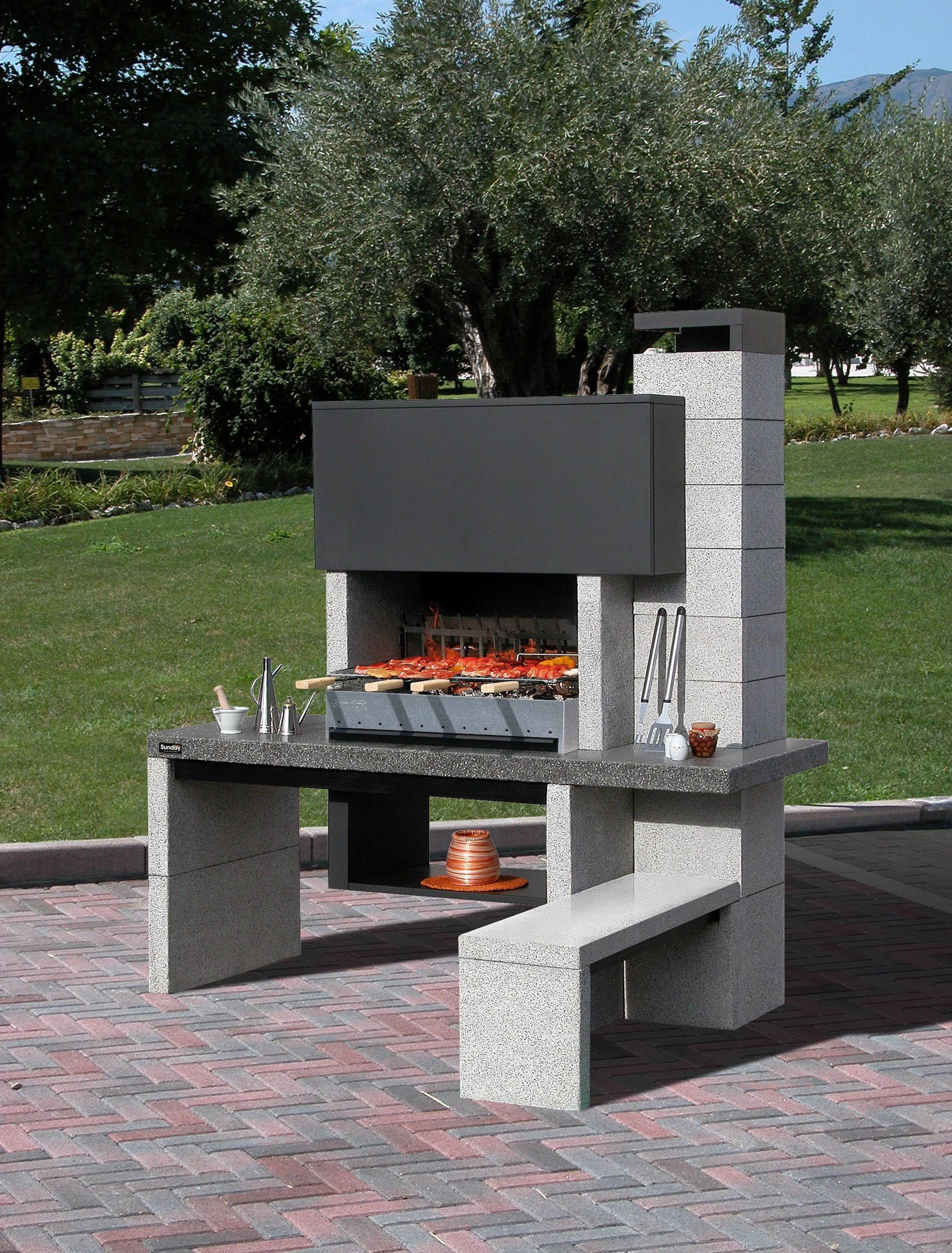 Barbecue Fixe : 5 Critères Pour Faire Le Meilleur Choix ... encequiconcerne Abri De Jardin En Dur