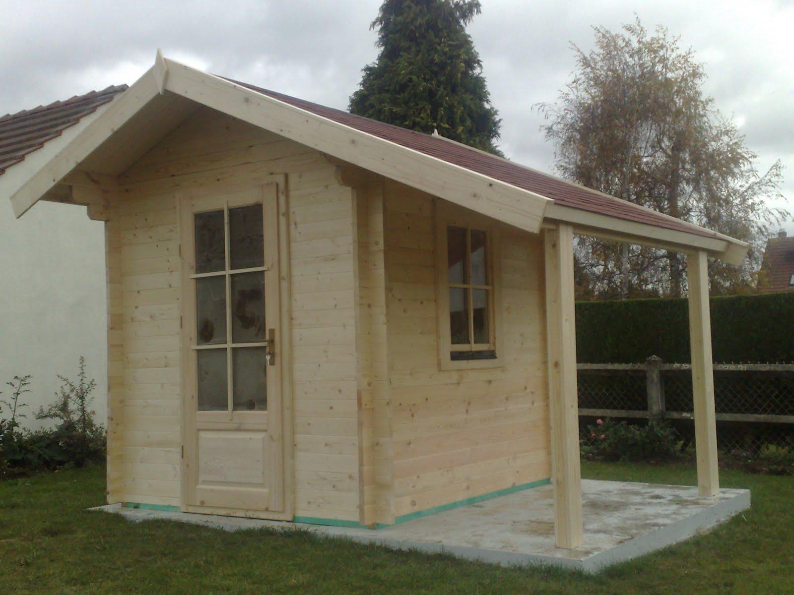 Bienvenue Chez Amexdéco.: Abri De Jardin De 4M² Jusqu'a 12M² tout Abri De Jardin Avec Bucher