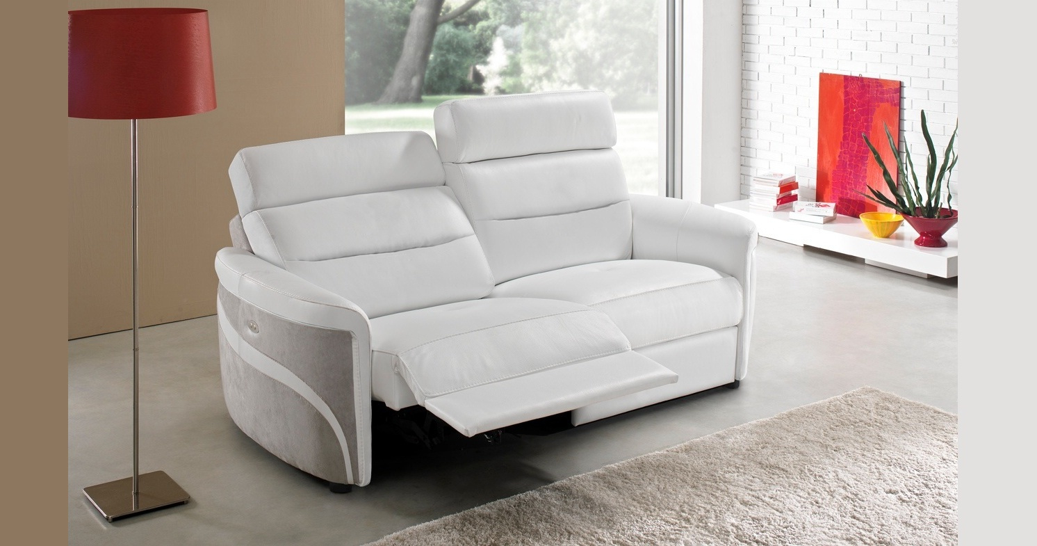 Borneo Canapé Version Fixe, Relaxation Ou Convertible avec Canape Relax Convertible
