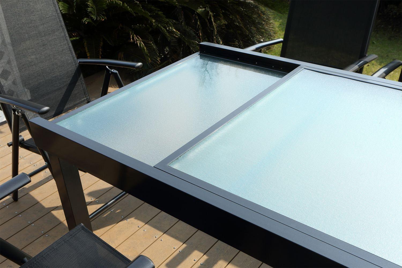 Brescia 10 tout Table De Jardin En Aluminium