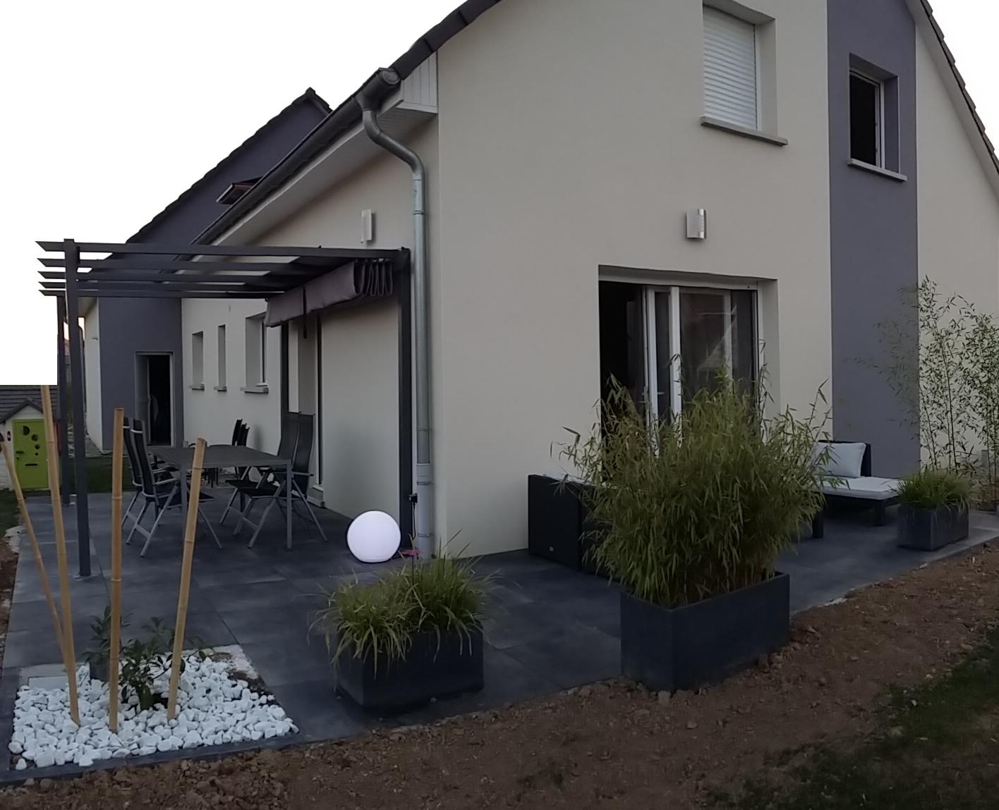 Bricolage : De L'idée À La Réalisation. : Terrasse Design avec Terrasse En Cailloux