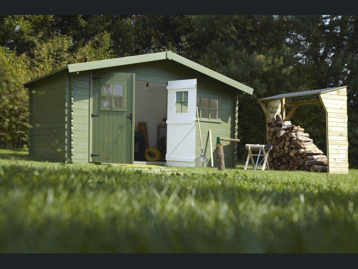Bucher - Cabane / Grange Jardin Solid | Construire Abri De ... concernant Abri De Jardin Solid