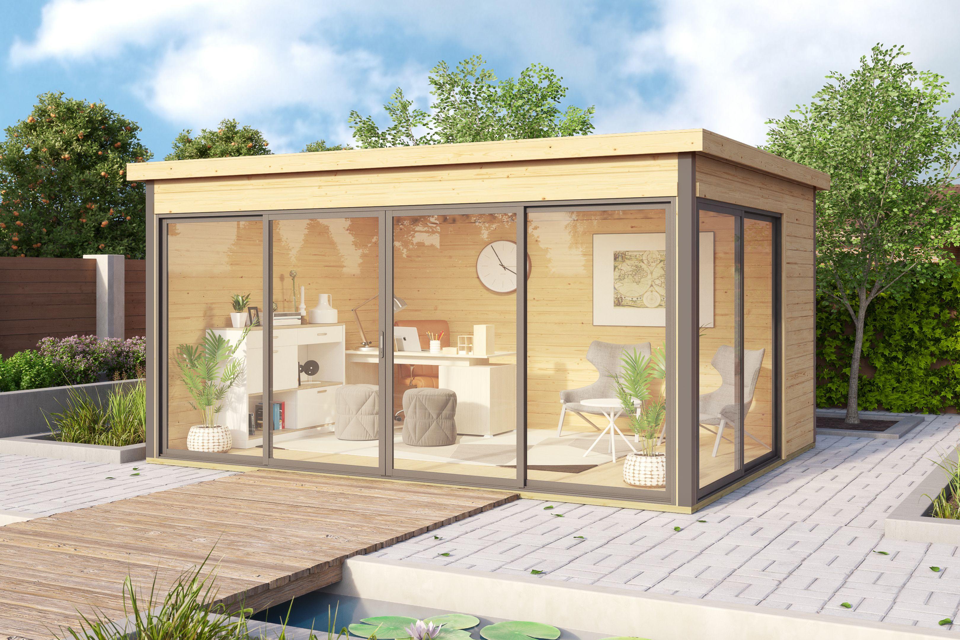 Bureau De Jardin Argos 4 - 12M2 En 2020 | Bureau De Jardin ... pour Abri De Jardin 12M2