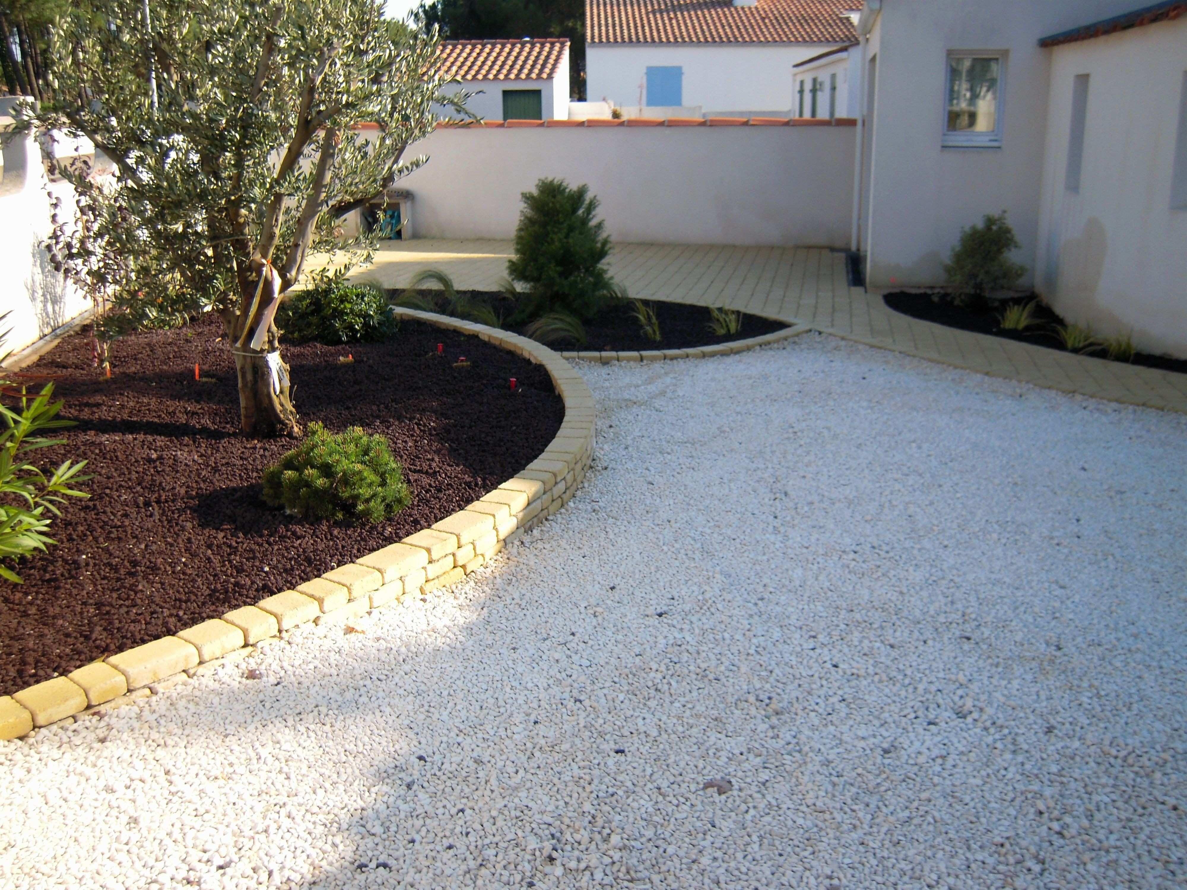 Cailloux Blanc Jardin Inspirational Allee De Jardin En ... tout Terrasse En Cailloux