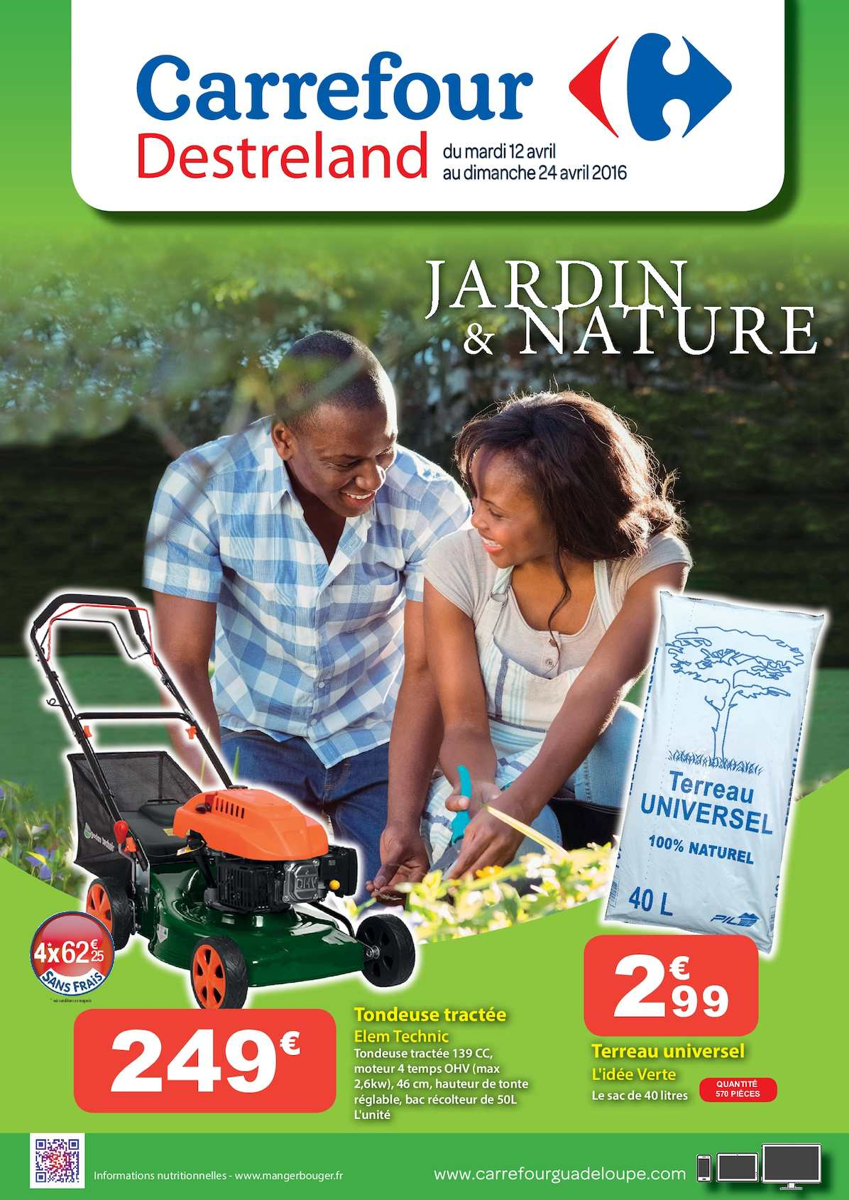 Calaméo - Carrefour Catalogue Jardin & Nature à Transat Jardin Carrefour