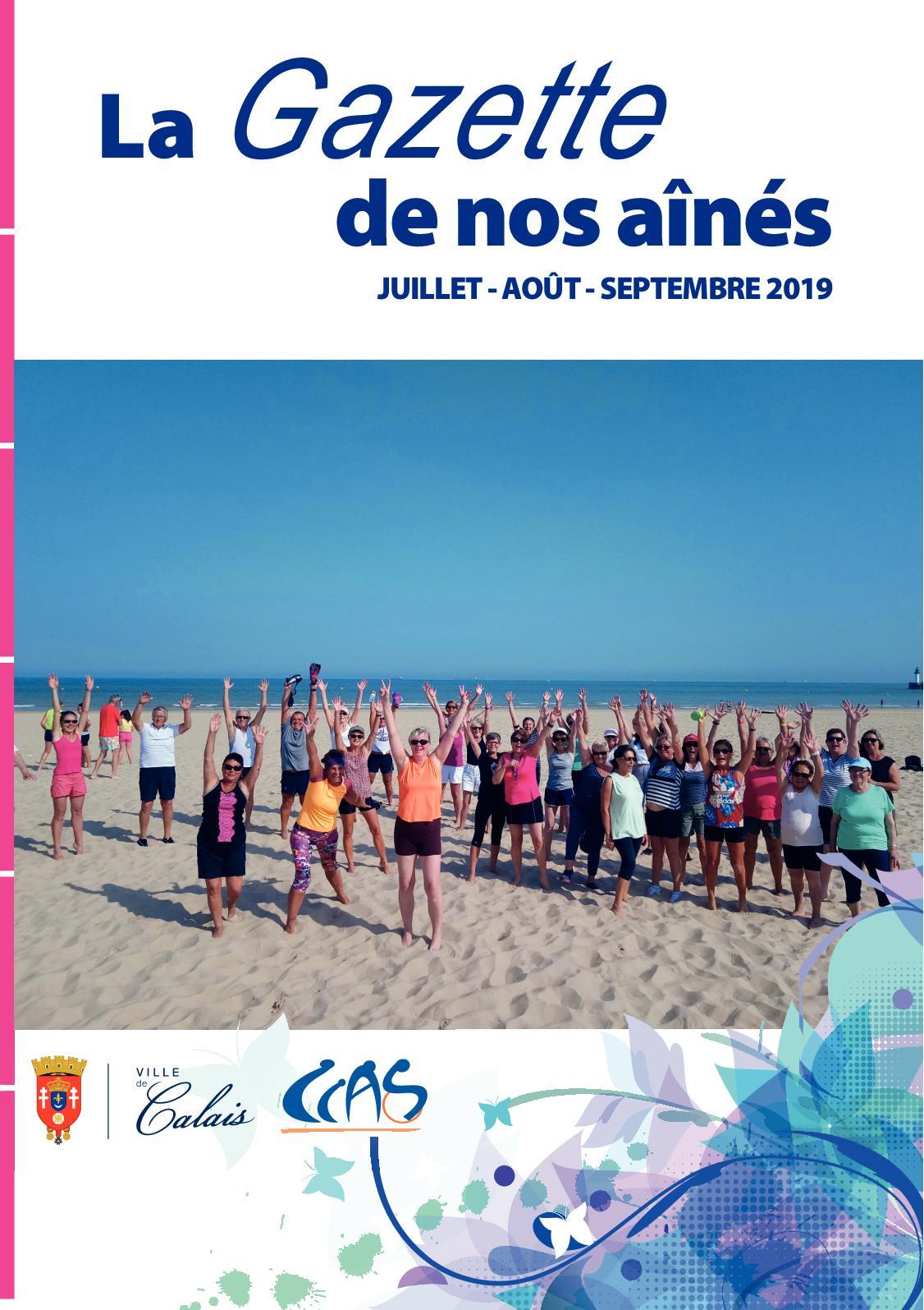 Calaméo - Gazette Du Ccas De Calais Juillet - Août ... serapportantà Piscine Iceo Calais