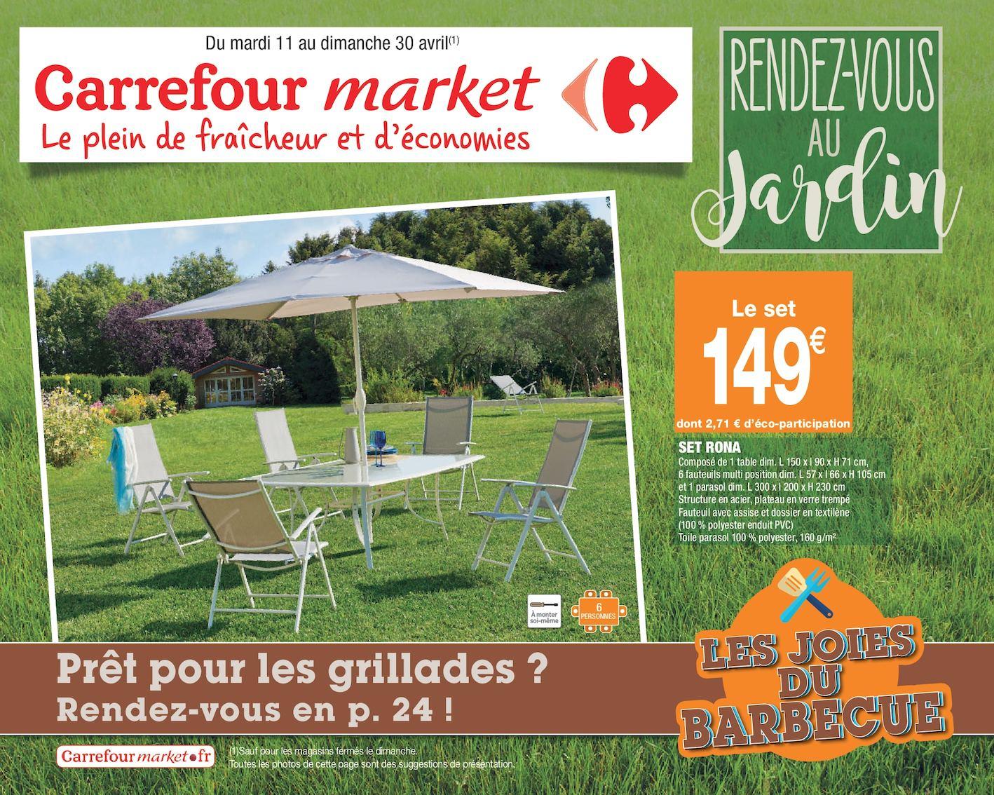 Calaméo - Rendez-Vous Au Jardin encequiconcerne Transat Jardin Carrefour