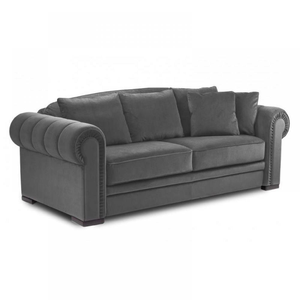 Canapé Chesterfield Convertible Ouverture Rapido Couchage 140 * 200 Cm. destiné Canape Chesterfield Convertible