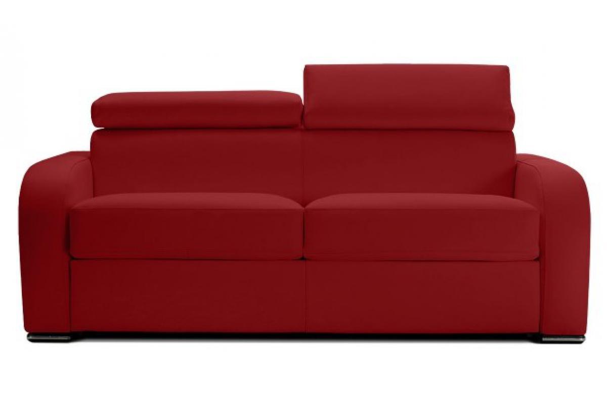 Canapé Convertible 3 Places Cuir Mario Plus D's intérieur Canape Cuir Convertible
