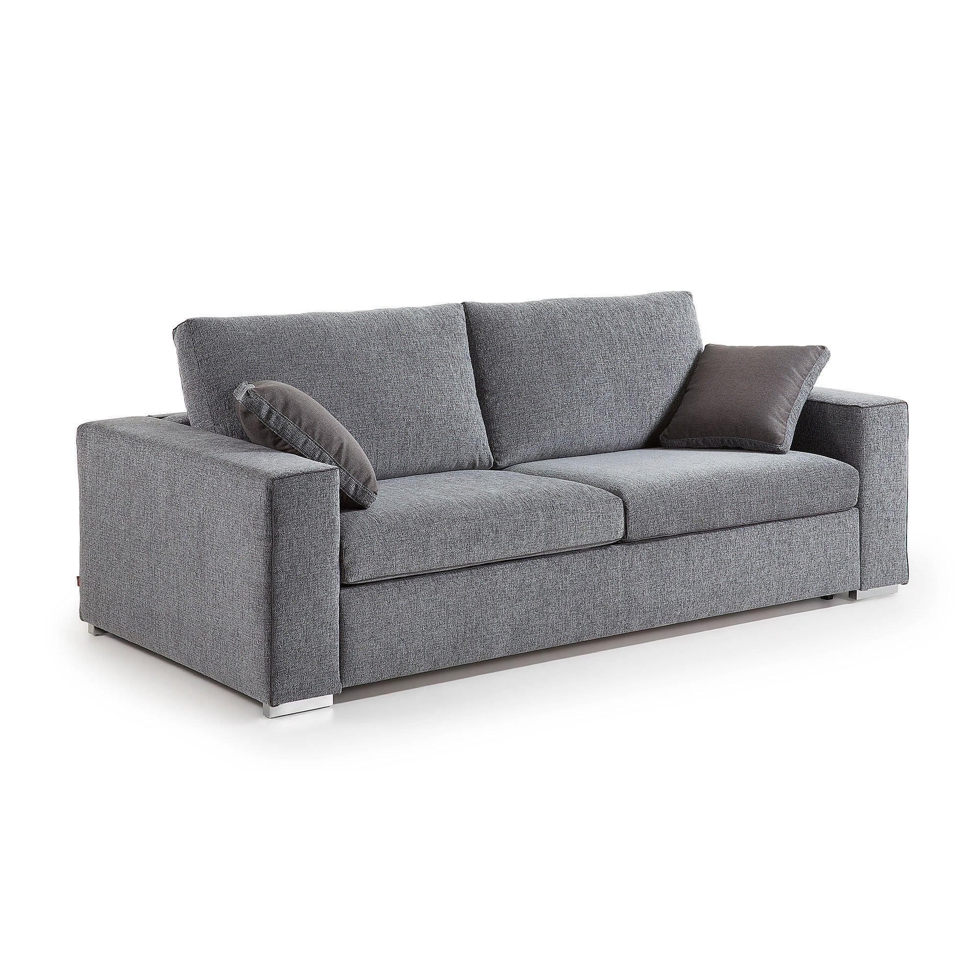 Canapé Convertible Big 180, Gris In 2020 | Ikea Living Room ... intérieur Canape Convertible Original