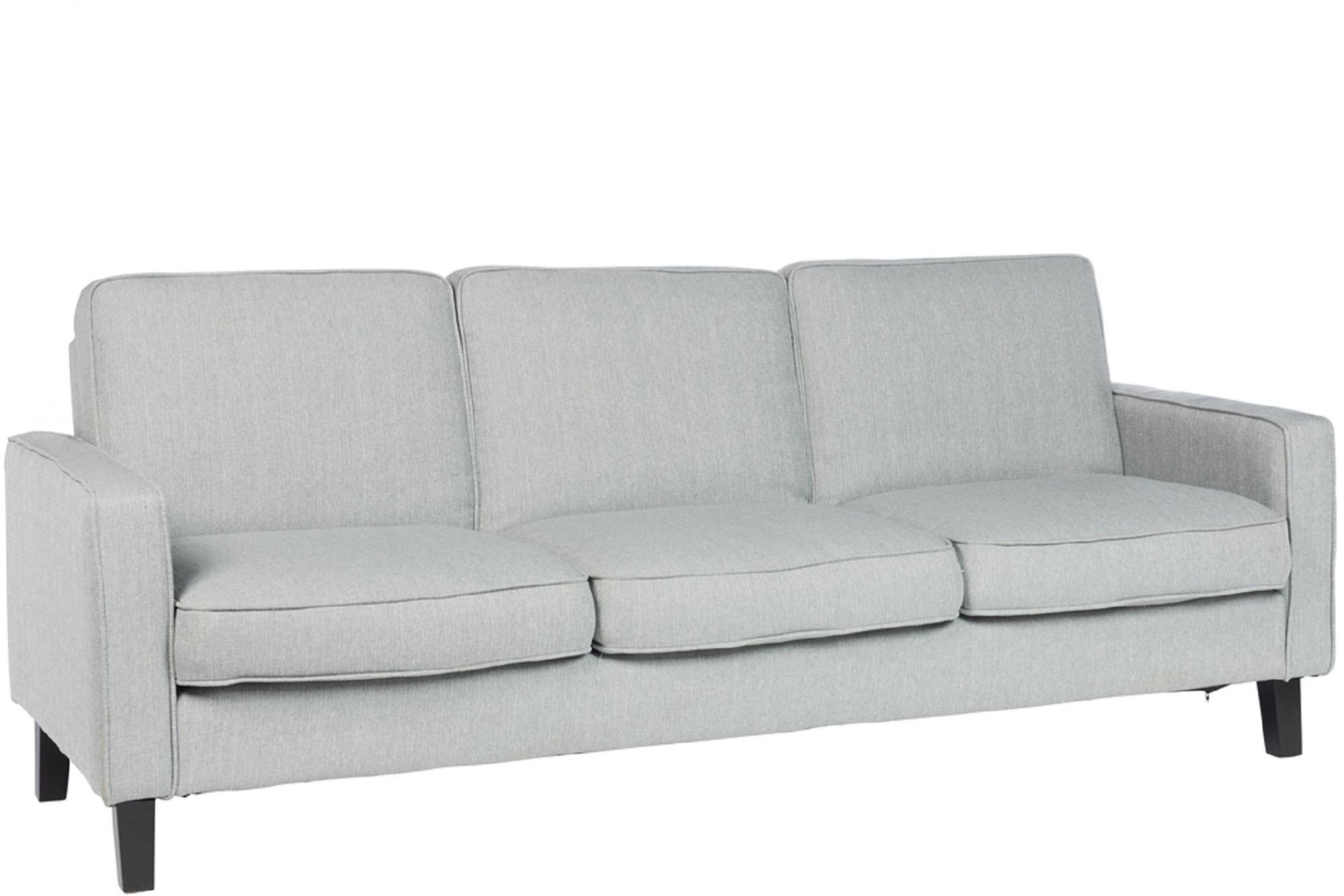 Canapé Convertible Gris 3 Places - Hellin serapportantà Canape Convertible Tres Confortable