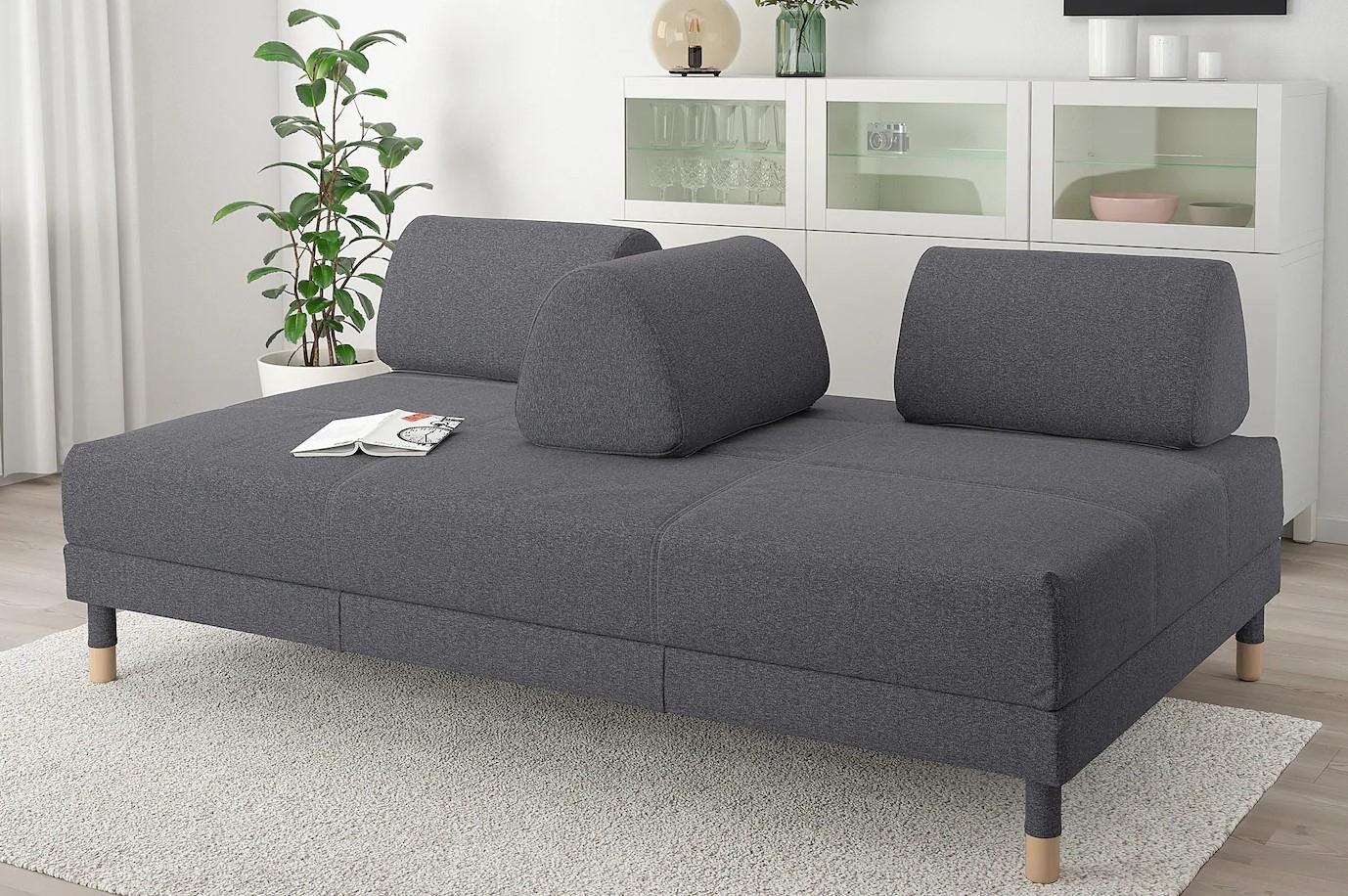 Canapé Convertible Ikea : 30 Modèles Pratiques Et Confort ... dedans Canape Convertible Tres Confortable