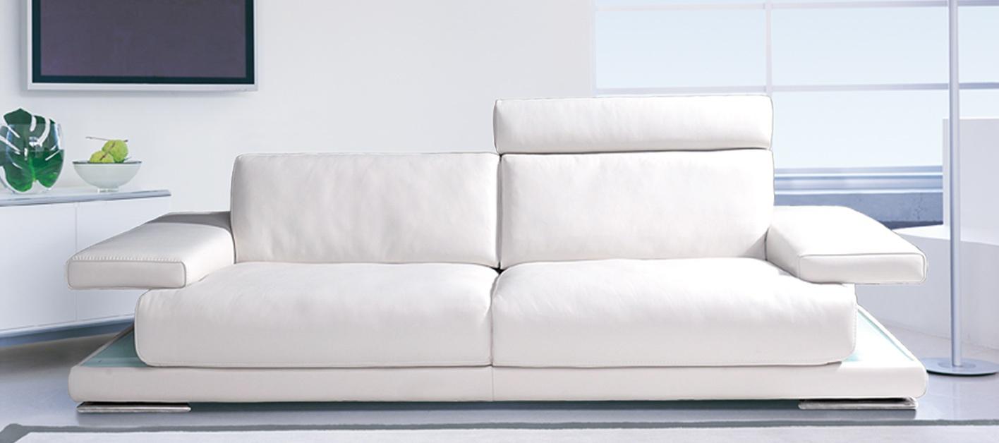 Canapé Cuir Auckland à Canape Cuir Blanc