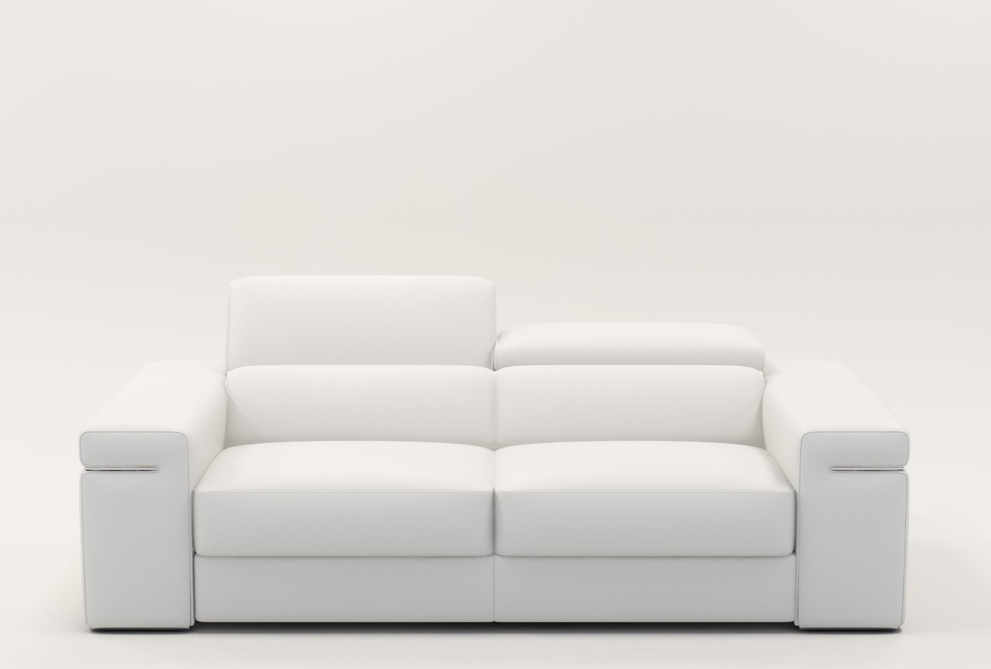 Canapé Cuir Blanc Concept - Idees Conception Jardin intérieur Canape Cuir Blanc
