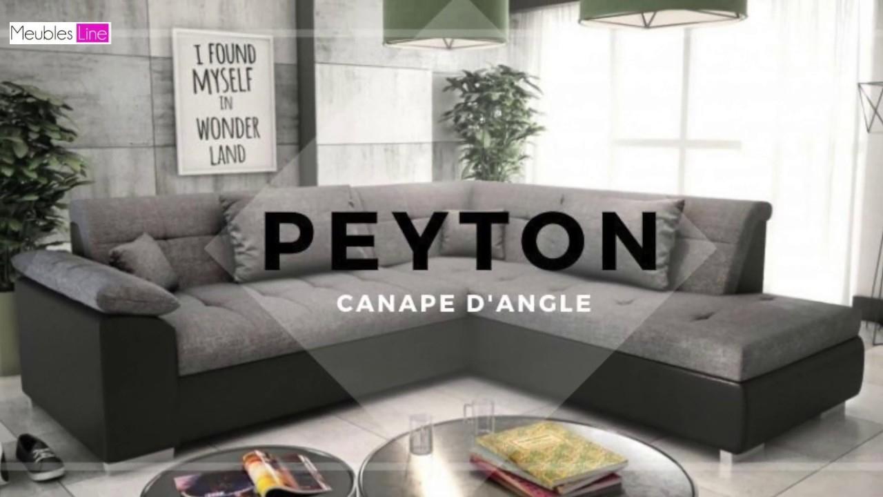 Canapé D'angle Convertible 5 Places Peyton dedans Canape 5 Places