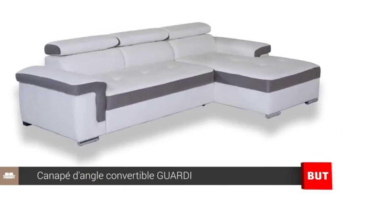 Canapé D'angle Convertible Et Méridienne Guardi - But à But Canapes Convertibles