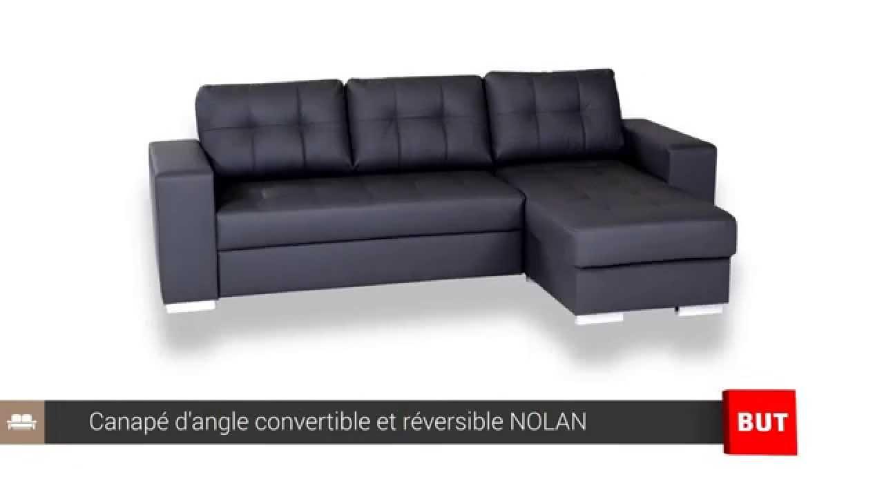 Canape D'angle Convertible Et Réversible Nolan - But dedans But Canapes Convertibles