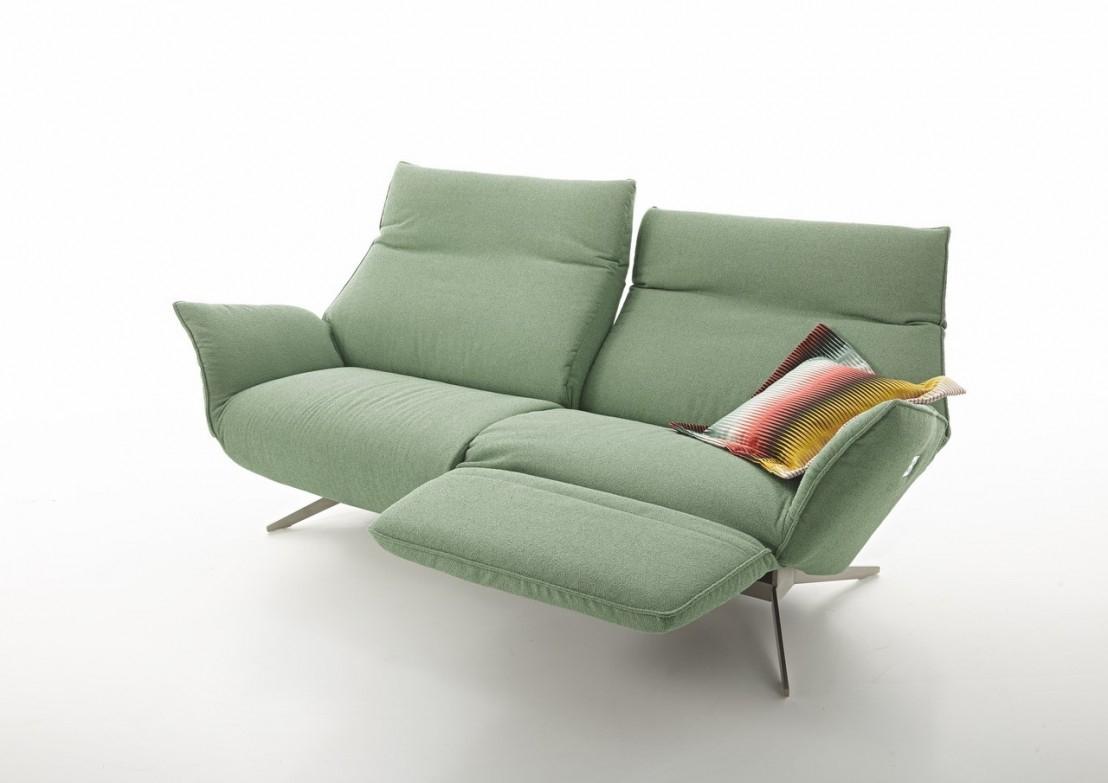 Canapé Design Relax Éléctrique Compact Cuir Ou Tissu 2 ... à Canape Relax 2 Places