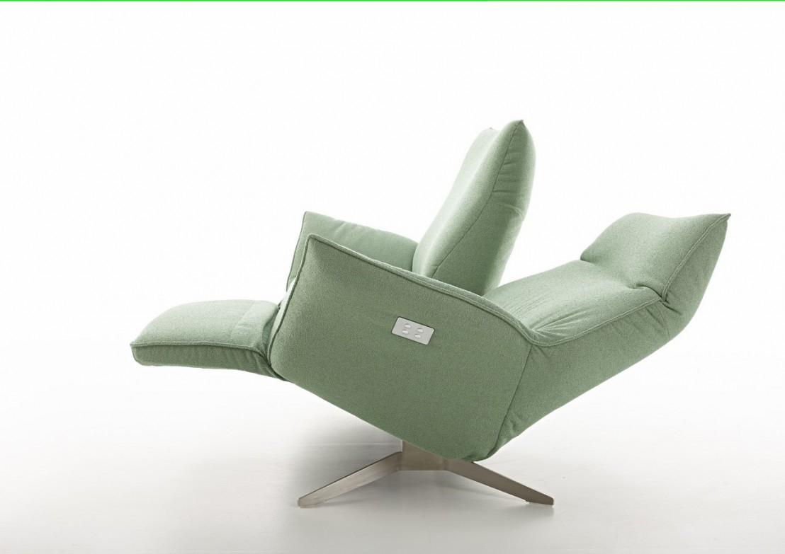 Canapé Design Relax Éléctrique Compact Cuir Ou Tissu 2 ... avec Fauteuil Relax 2 Places