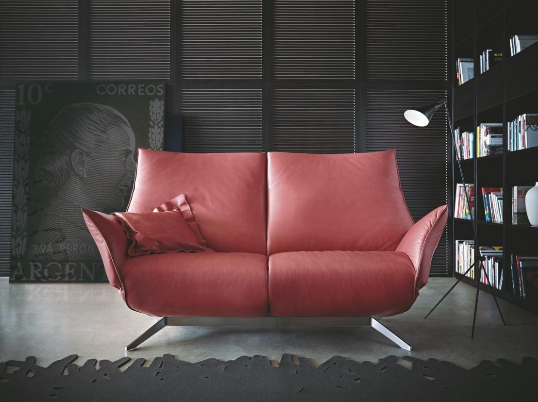 Canapé Design Relax Éléctrique Compact Cuir Ou Tissu 2 ... encequiconcerne Fauteuil Relax 2 Places